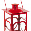 Isolated red lantern — Foto Stock
