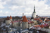 Old Town of Tallinn, Estonia — Stok fotoğraf