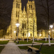 Saint Michael's church in Brussels Belgium — Stock Photo