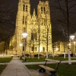 Stock Photo: Saint Michael's church in Brussels Belgium