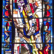Religious stained-glass window — Stock Photo #28322037