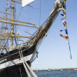 Stock Photo: Krusenstern ship at harbor in Tallinn, Estonia
