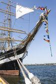 Krusenstern ship at harbor in Tallinn, Estonia — Stockfoto