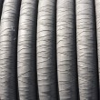 Rubber rope closeup — Stock Photo