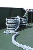 Cuerda floja en un piso de la nave — Foto de Stock
