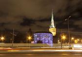照らされたタリン、エストニア — ストック写真