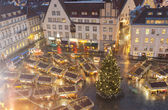 Christmas market in Tallinn, Estonia — Stock Photo