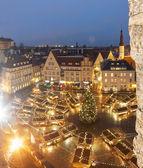 Christmas market in Tallinn, Estonia — Stock Photo