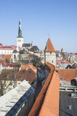 Cityscape of the old town of Tallinn, Estonia — Stock Photo