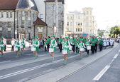 Parade of Estonian national song festival in Tallinn, Estonia — Zdjęcie stockowe