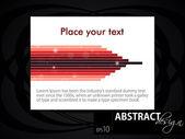 Abstract retro design, EPS 10 — Stock Vector