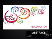Abstract vector colorful background, EPS 10 — Stock Vector
