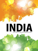 Beautiful & colorful India flyer design or cover design, EPS 10 — Stock vektor