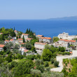 Stock Photo: Panorama of montenegro coast line