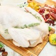 Raw turkey — Stock Photo #42693523