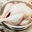 Fresh raw turkey — Stock Photo