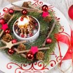 Christmas dessert — Stock Photo #42697289