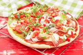 Pizza — Foto Stock