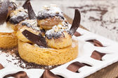 Profiteroles — Stock Photo