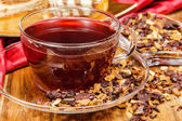 Cranberry tea — Stock Photo