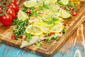 Cilantro Lime Cod. — Stock Photo