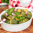 Постер, плакат: Stuffed Collard Greens