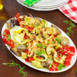 Chicken and vegetable Stir Fry — Stock Photo #46316615