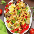 Chicken and vegetable Stir Fry — Stock Photo #46316621