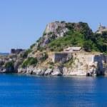 Old Byzantine fortress of Corfu town, Greece — Stock Photo #49525115