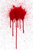 Blood drips — Stock Photo