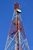 Telecommunication mast — Stock Photo