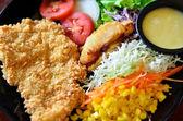 Balık salatası — Stok fotoğraf