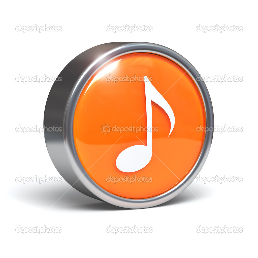 Musical Notes Symbols on Facebook Music Note Symbol 3d Button