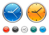 Clock icons 2 — Stock Vector