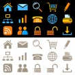 Web icons, pictograms - Stock Vector