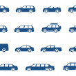 Cars icons set — Stock Vector