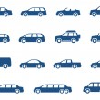 Stock Vector: Cars icons set