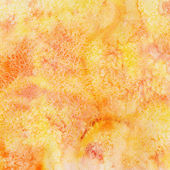 Orange watercolor background — Stock Photo