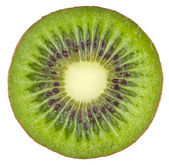 Kiwi isolated on white background with clipping path — Stock Photo