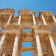 Facade of the Library of Celsus. Turkey — Stockfoto