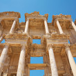 Stock Photo: Facade of the Library of Celsus. Turkey