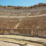 Seats of Odeon theater in ancient Ephesus. Turkey — Stock Photo #39303927