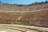 Seats of Odeon theater in ancient Ephesus. Turkey — Stock Photo