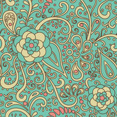 Floral-ornamental-pattern — Stock Photo