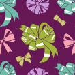 Resent-bows-pattern — Stock Photo #13735851