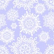 Stock Photo: Snowflake pattern