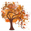 Autumn-tree — Stock Photo