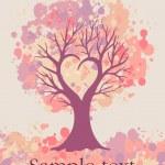 Love-tree-card — Stock Photo #19423589