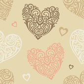 Hearts-pattern — Stock Photo