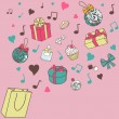 Stock Photo: Gifts-from-the-bag